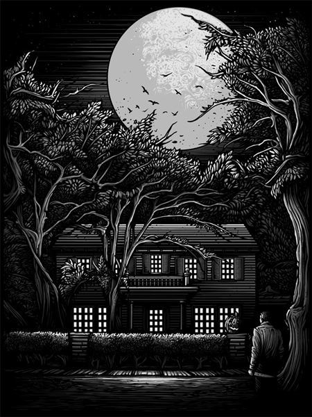 The Night He Came Home (Variant Edition), Art Print by Dan Mumford