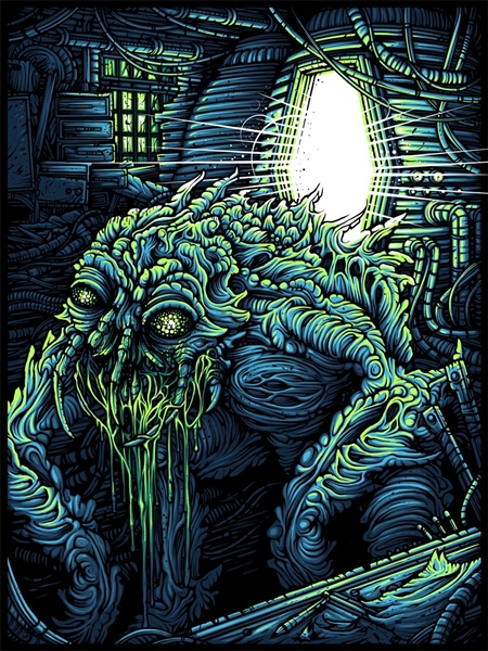The Fly Art Print by Dan Mumford