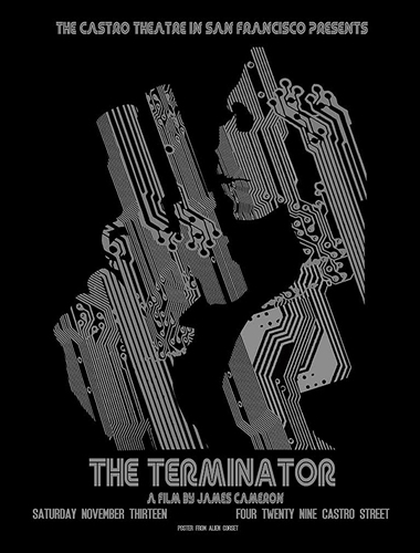 The Terminator Movie Poster by David O'Daniel