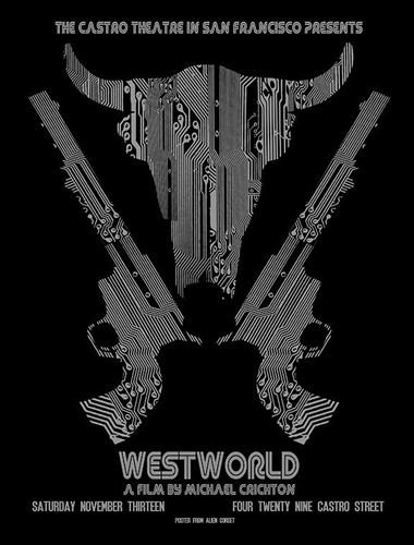 Westworld Movie Poster by David O'Daniel