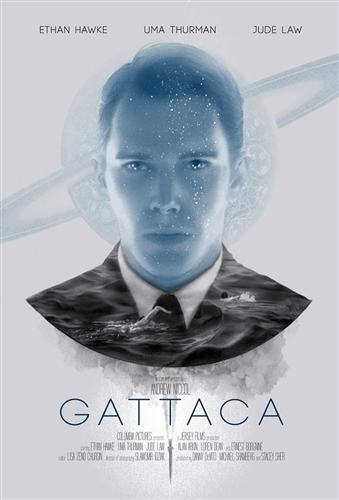 Gattaca movie poster by Greg Ruth