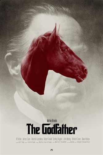 Godfather poster by Greg Ruth