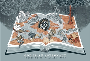 God Is An Astronaut Concert Poster by Sabrina Gabrielli