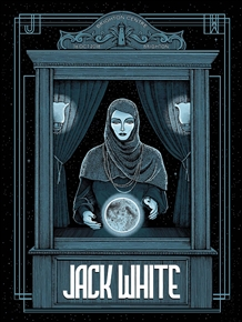 Jack White Concert Poster by Pat Hamou
