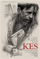 Kes movie poster by Jonathan Burton