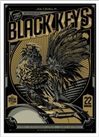 The Black Keys Concert Poster