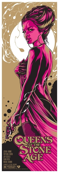 Queens Of The Stone Age Concert Poster Ken Taylor