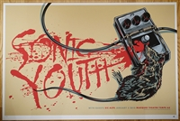 Sonic Youth Silkscreen Concert Poster by Ken Taylor