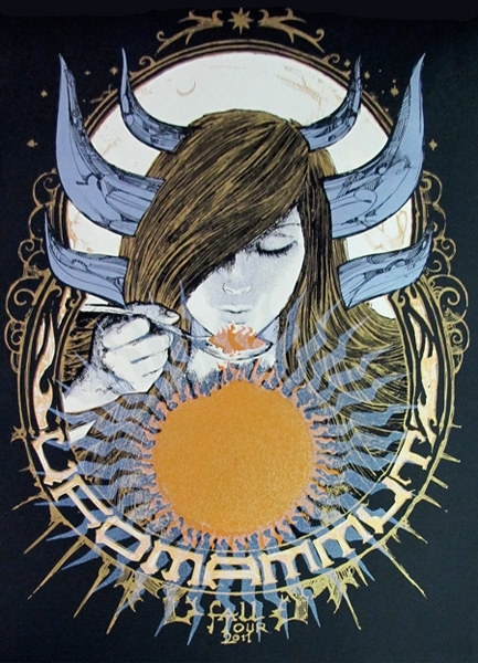 Ufomammut 2011 Fall Tour Poster by Malleus