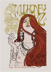 Mudhoney Concert Poster
