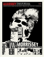Morrissey Concert Poster by Methane Studios