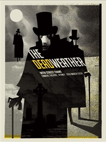 The Dead Weather Concert Poster by Methane Studios