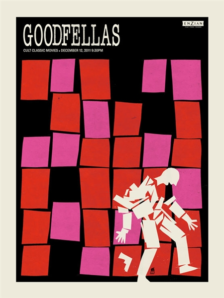 Goodfellas Movie Poster by Methane Studios