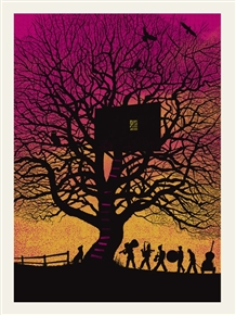 Treehouse Art Print by Methane Studios