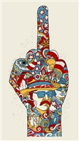 Dennis Hopper Art Print by Methane Studios