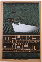 Melvins Concert Poster by Nick Rhodes