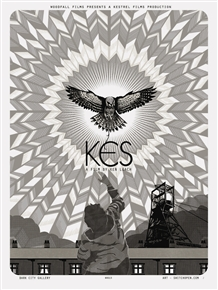 Kes Movie Poster (Winter Edition)