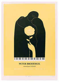 Peter Broderick Concert Poster by Craig Carry
