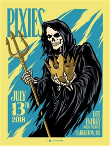 Pixies Concert Poster by Mark5