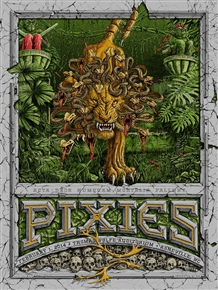 Pixies Concert Poster by Dig My Chili