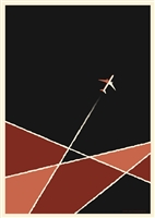 Plane Art Print by Simon Marchner