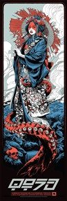 Queens Of The Stone Age Concert Poster by Ken Taylor