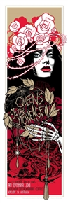 Queens Of The Stone Age tour Poster by Teniele Sadd