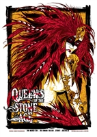 Queens Of The Stone Age Feather Queen Poster by Rhys Cooper