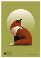Fox Art Print by Simon Marchner