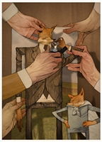 Fantastic Mr Fox Art Print