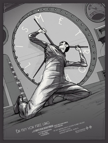 Metropolis Movie Poster by Rich Kelly