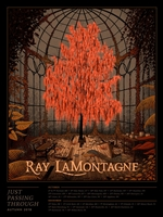 Ray LaMontagne Concert Poster by Nicholas Moegly