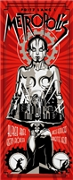 Metropolis Movie Poster (Red) by Rodolfo Reyes