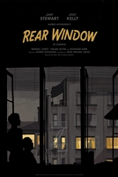 Rear Window Variant movie poster by Katherine Lam