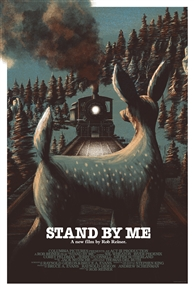 Stand By Me Movie Poster by Housebear Design