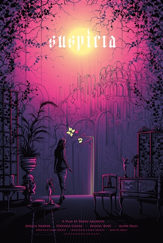 Suspiria Movie Poster by Dan Mumford