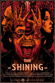 The Shining Movie Poster by Nikita Kaun