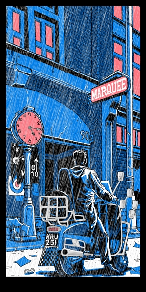 'I Am One' Quadrophenia Art Print by Tim Doyle