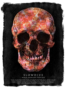 Slowdive Concert Poster by Tommy Davidson