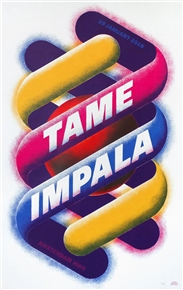 Tame Impala Concert Poster