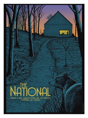 The National Concert Poster by Pat Hamou
