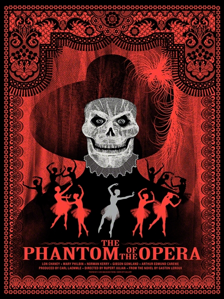 The Phantom Of The Opera movie poster by The Balbusso Twins