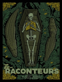 The Raconteurs Concert Poster by Pat Hamou