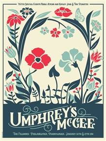 Umphrey's McGee Concert Poster by Dan Stiles