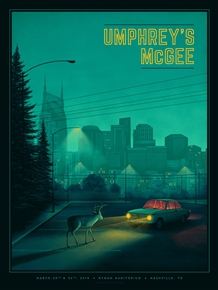 Umphrey's McGee Concert Poster by Nicholas Moegly