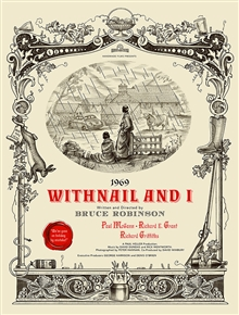 Withnail And I movie poster by Jonathan Burton