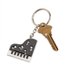 Piano key chain w/Crystals