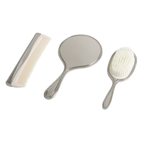 Comb, Brush and Mirror Set