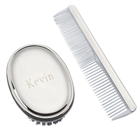 Comb & Brush Set For Boys