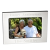 Silhouette Silver 4 x 6  Picture Frame